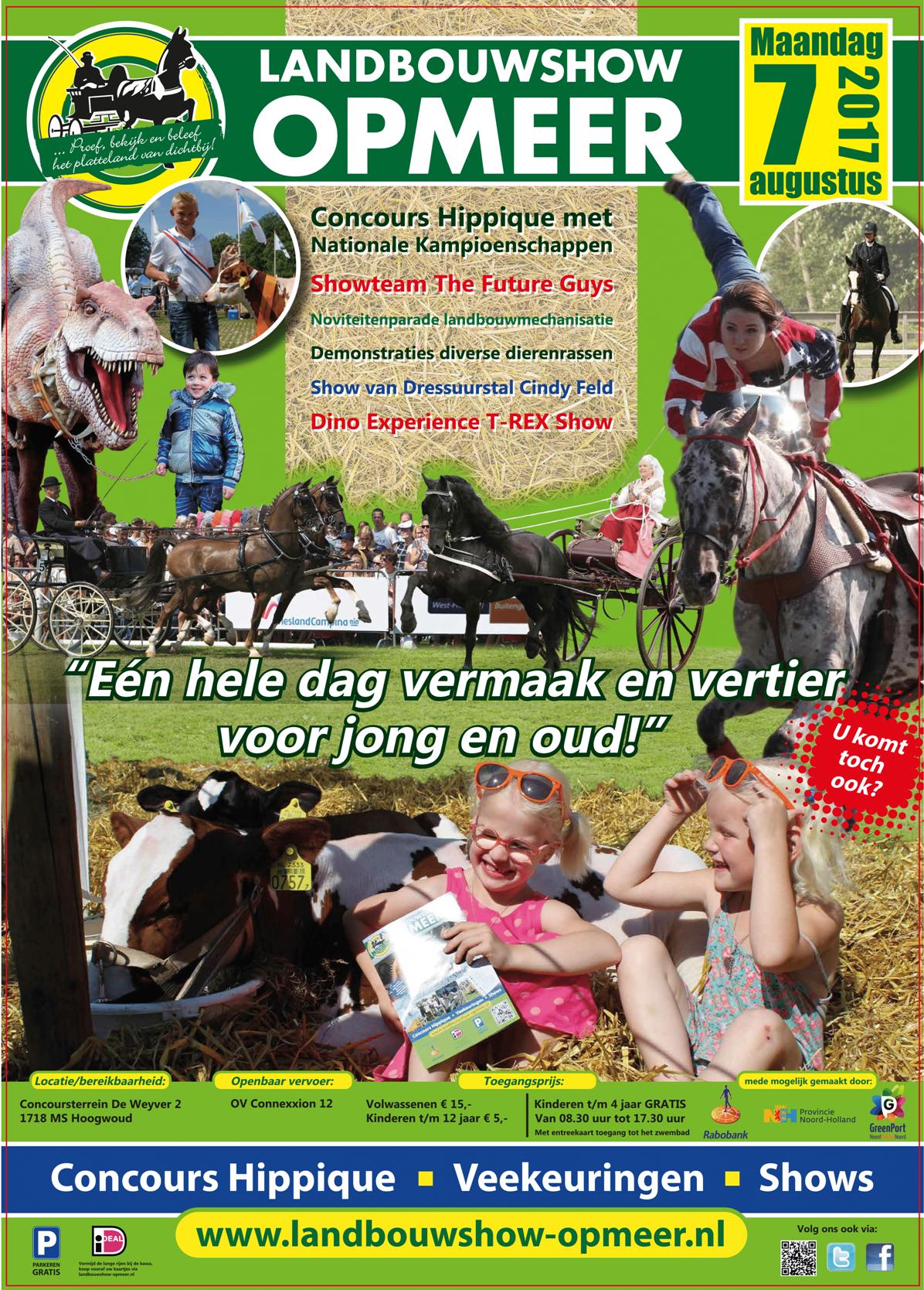 Poster Landbouwshow Opmeer 2017