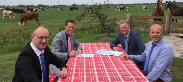 Nieuw contract voor Landbouwshow Opmeer met de Rabobank