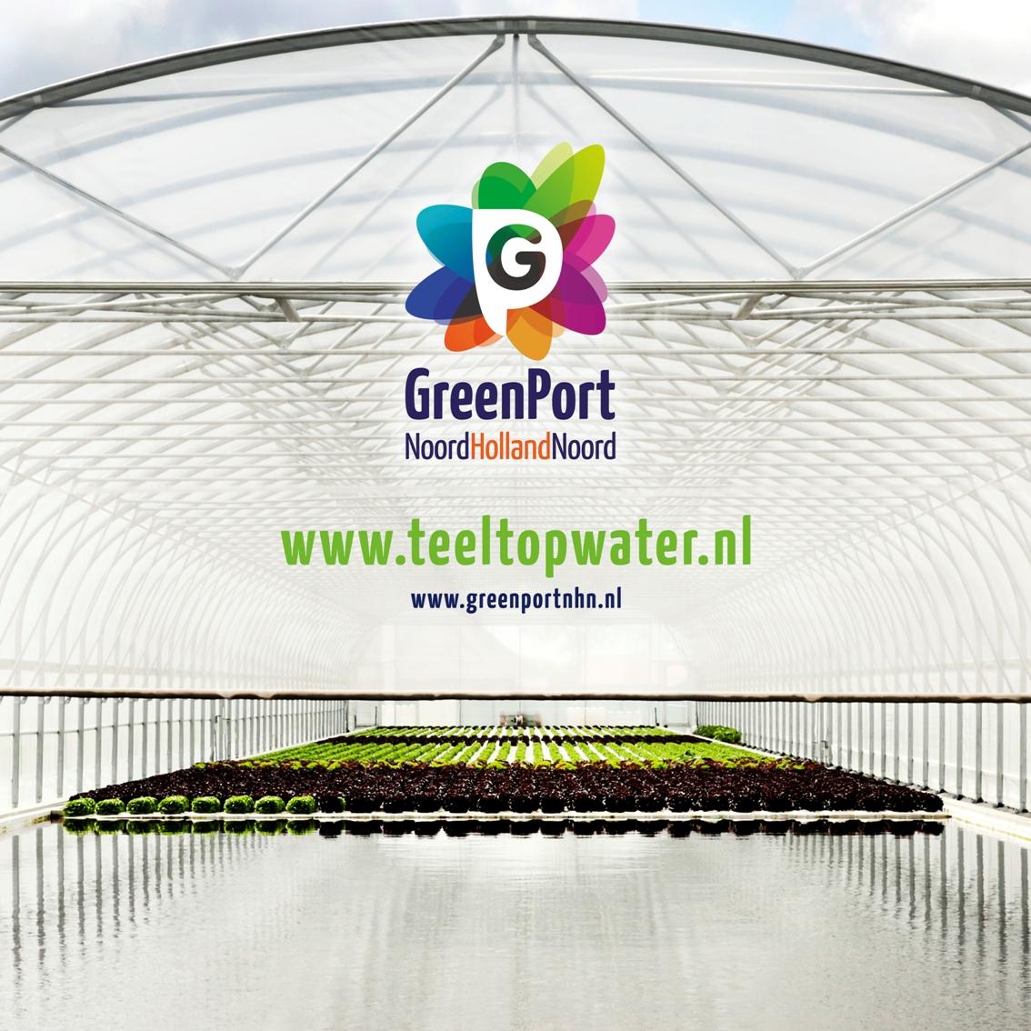 Greenport slateelt op water