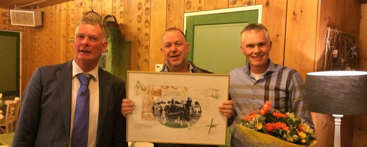 Afscheid Co Scholten en Edward Dijkstra