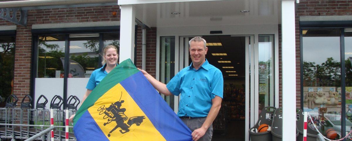 Vlag Landbouwshow te koop bij Koenis Opmeer